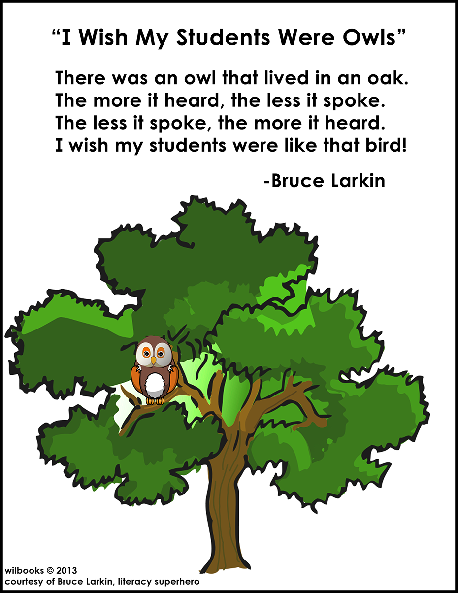 I Wish My Students Were Owls