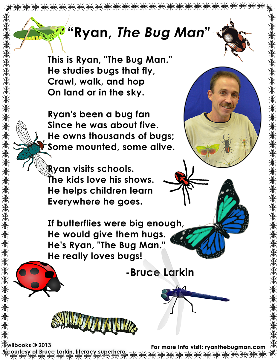 The Bug Man Poem
